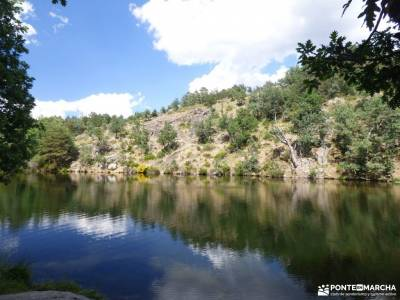 Tejos Rascafría-Valhondillo o Barondillo;ermita de hontanares bosque de faedo ruta de las xanas ast